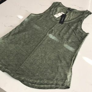 NWT Express Olive Green Tank Top - XS